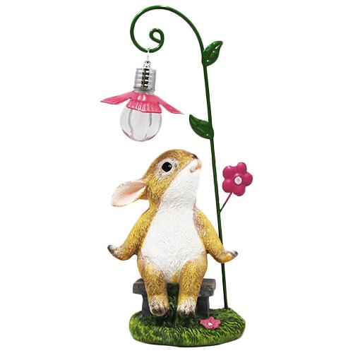 Figurka z lampką LED - Zajączek