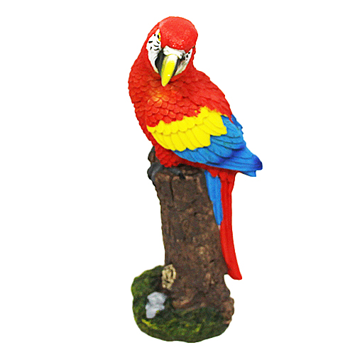 Figurka papuga - Ara - Czerwona