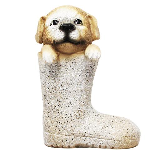 Figurka pies w buciku