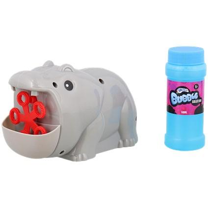 Maszynka do baniek hipopotam