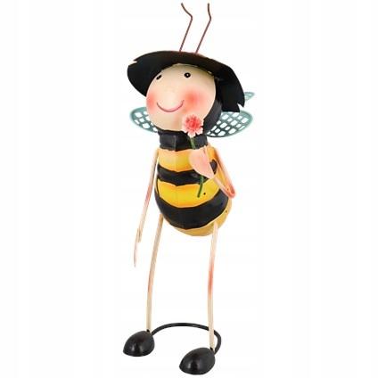 Figurka Pszczoła z kwiatkiem