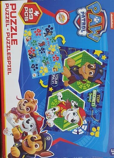 Gra Psi patrol puzzle
