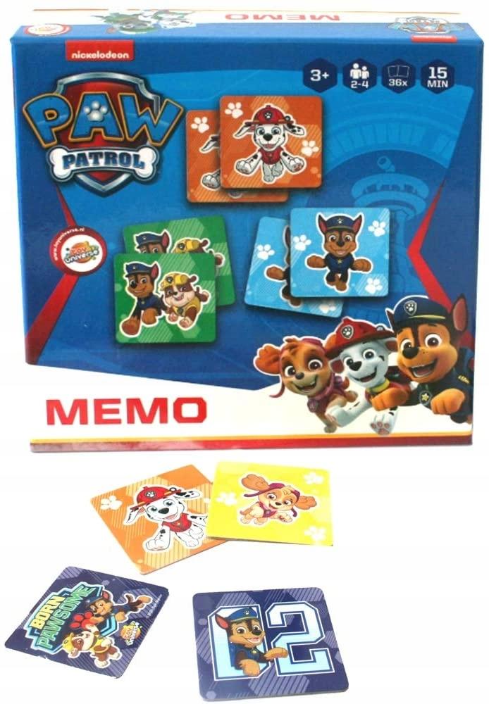Gra Psi patrol karty