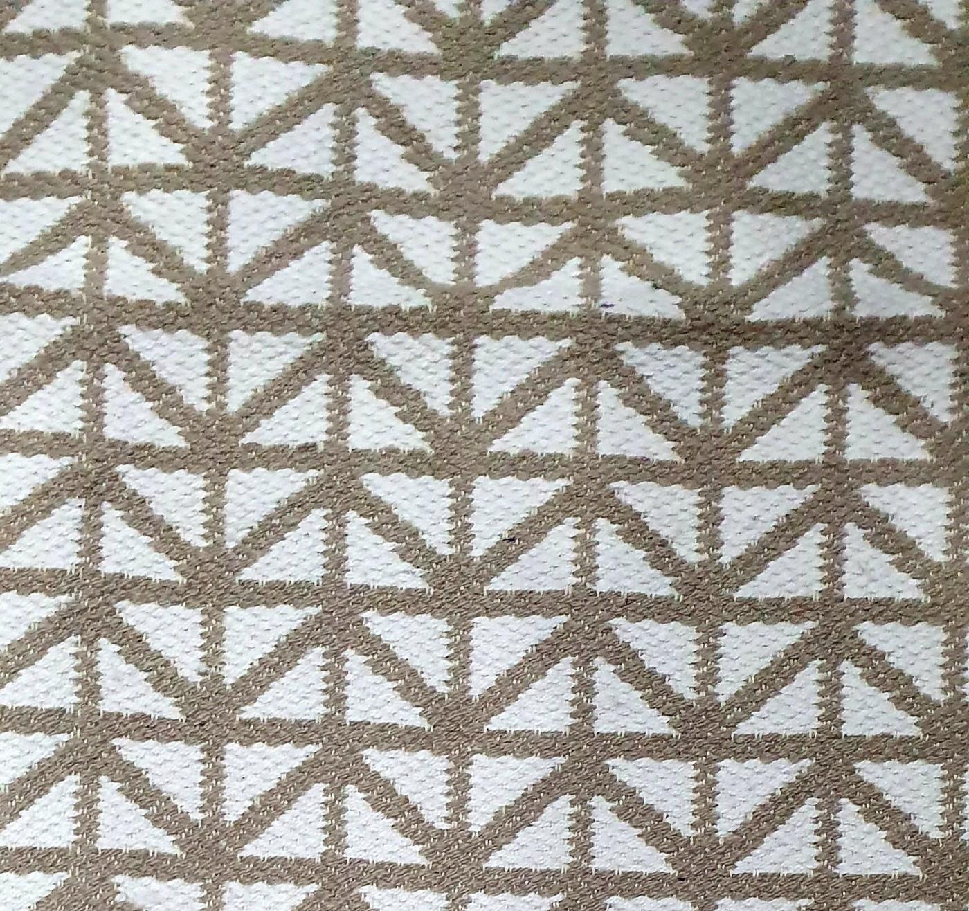 Dywan podłogowy bawełniany brązowy