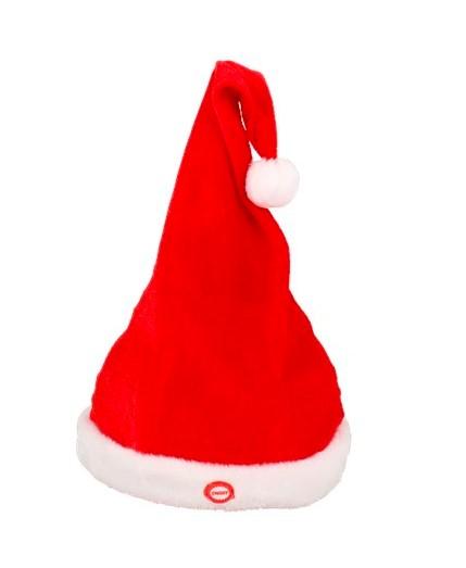 Czapka świąteczna - tańcząca - grająca