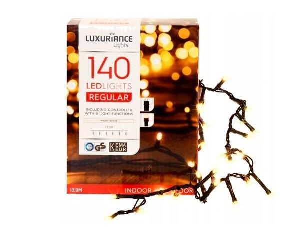 Lampki choinkowe białe - 140 LED