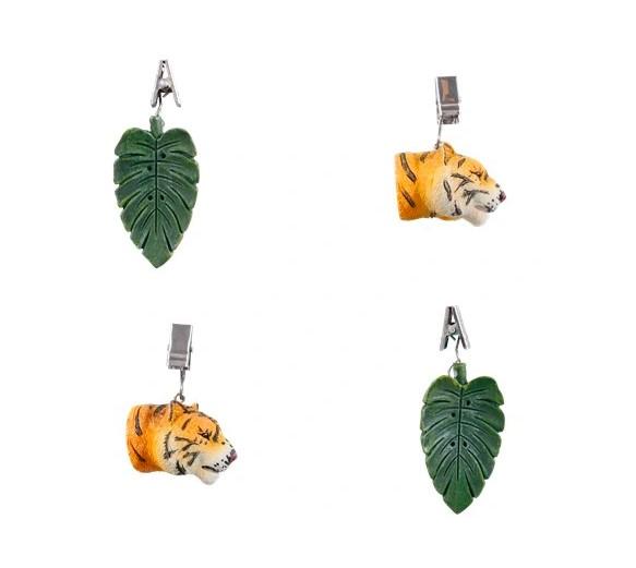 Ciężarki do obrusu - Tygrys