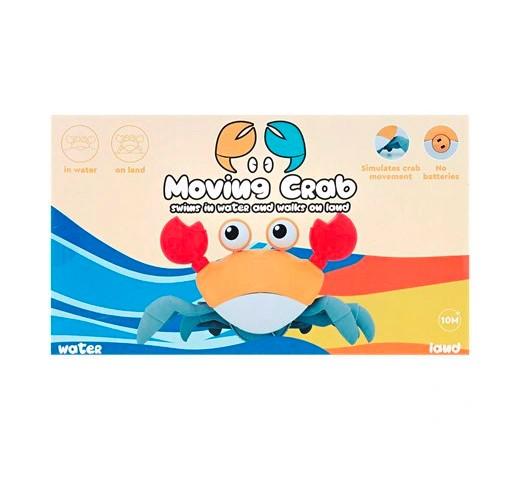 Krab zabawka - interaktywny