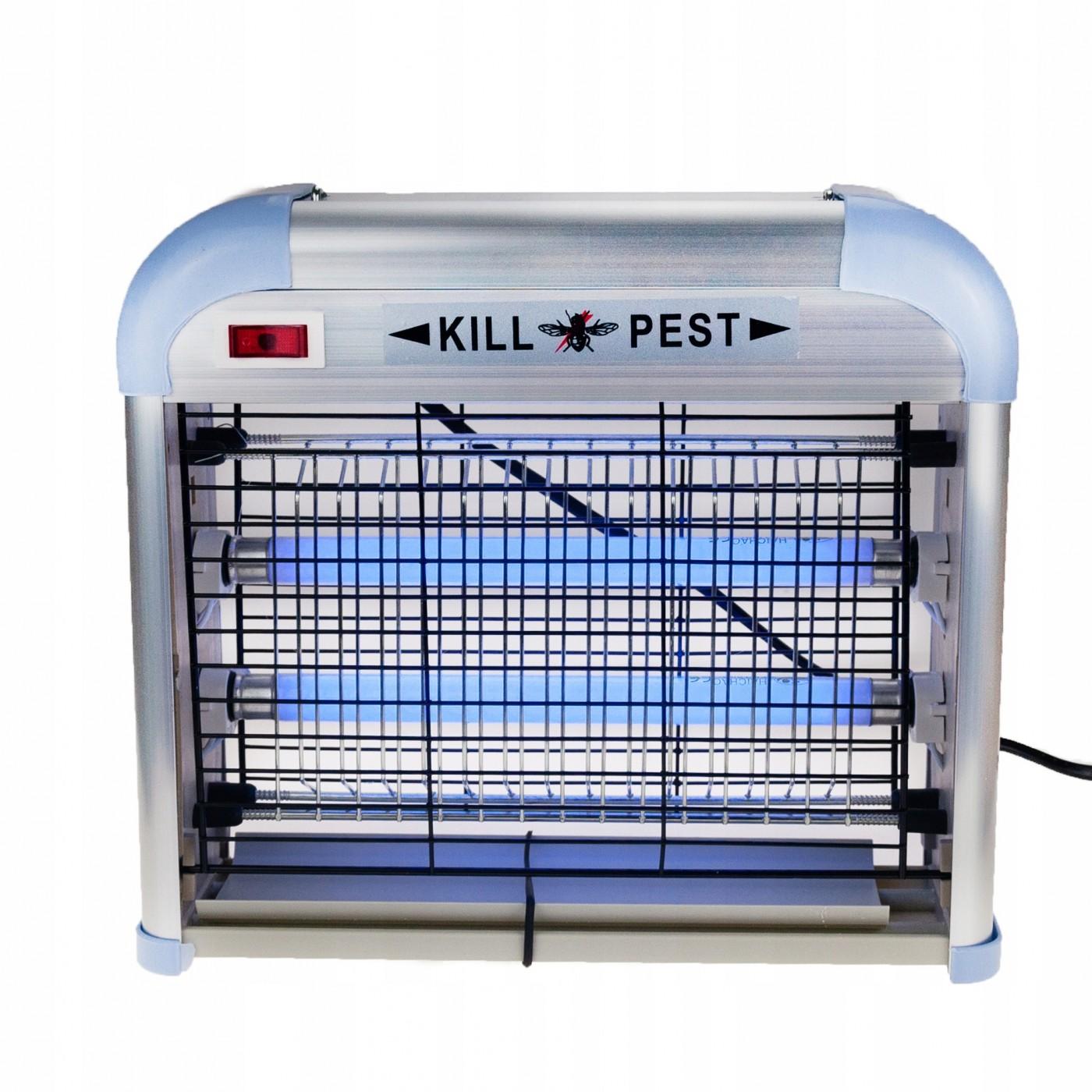 Lampa owadobójcza wewnętrzna-zewnętrzna UV 12 W