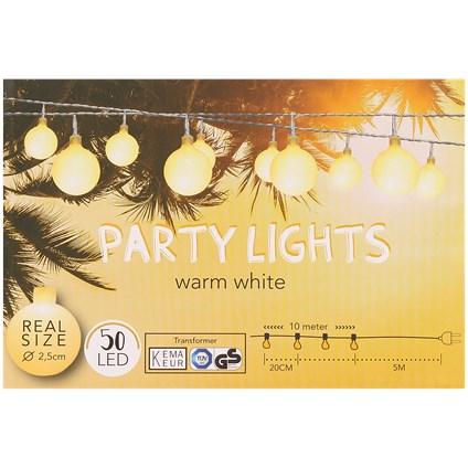 Girlanda 15m 50 LED biała