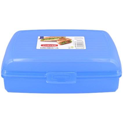 Śniadaniówka 2,7 l niebieska