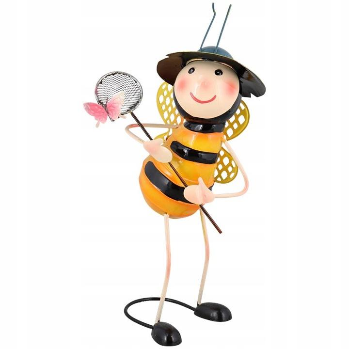 Figurka Pszczoła z motylkiem
