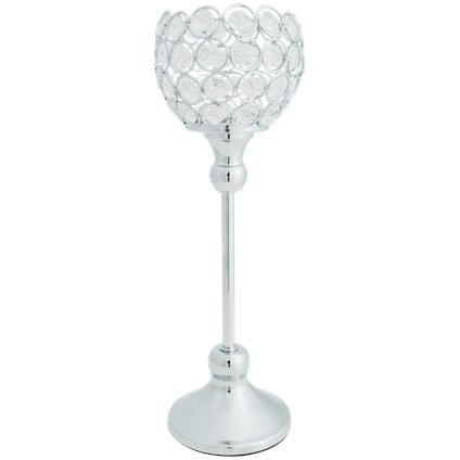 Świecznik glamour 35cm