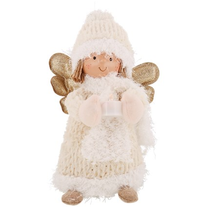 Figurka aniołek z Led