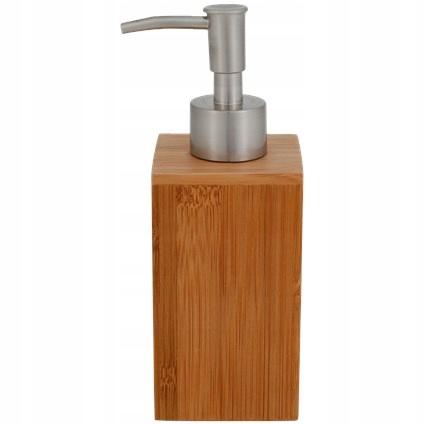 Bambusowy dozownik do mydła