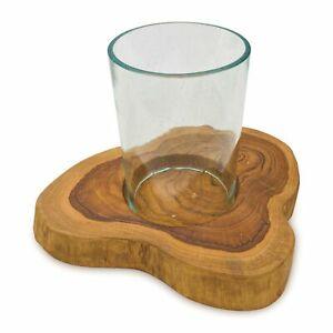 Plaster deska drewna tekowego 24cm