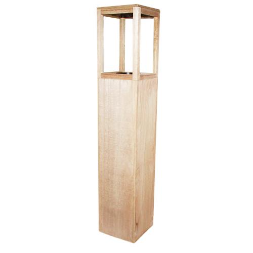 Lampion drewniany -  16 x 85 cm