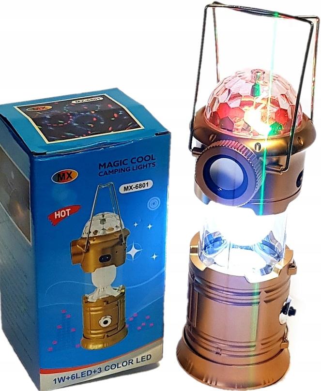 Lampa 3w1 disco