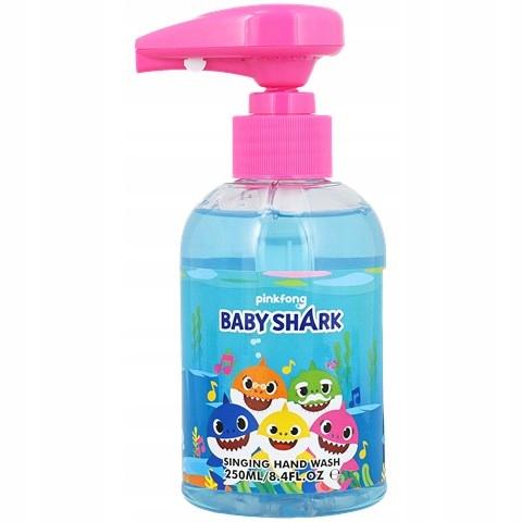 Mydło z dźwiękiem grające - Baby Shark - niebieskie