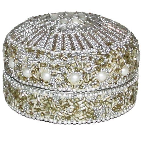 Pudełko na biżuterię - ozdobne glamour