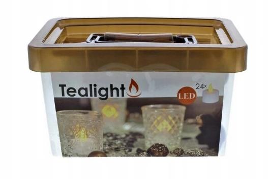 Zestaw 24 tealight / wkład
