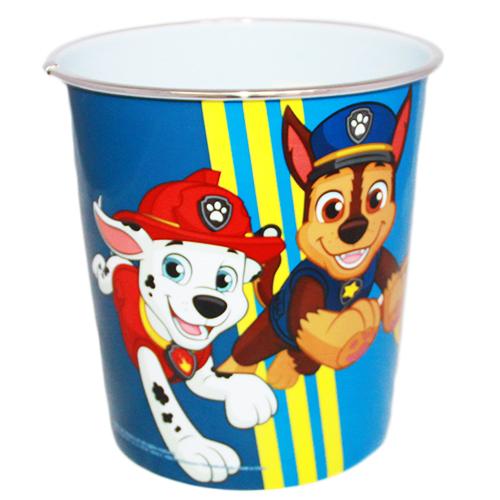 Wiaderko pojemnik - Psi Patrol - Niebieskie