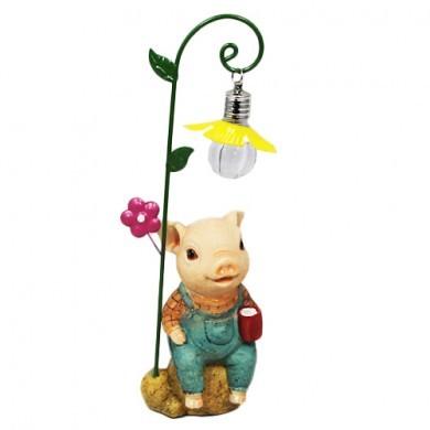 Figurka z lampką LED - Świnka