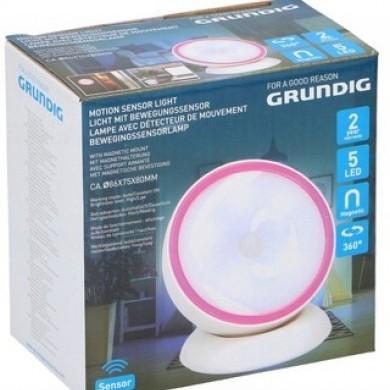 Lampka 5 LED z czujnikiem ruchu 360st
