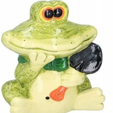 Figurka żaba z sensorem