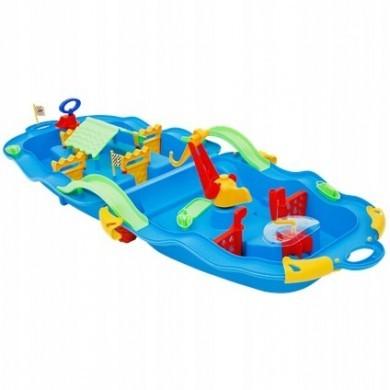Wodny plac zabaw dla dzieci - walizka wózek