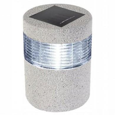 Lampa ogrodowa solarna kamień/słupek LED