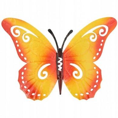 Zawieszka ścienna motyl pomarańczowy