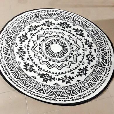 Dywan zewnętrzny okrągły