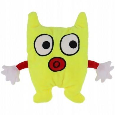 Maskotka potwór termofor - Żółta
