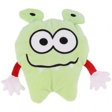 Maskotka potwór termofor - Zielona
