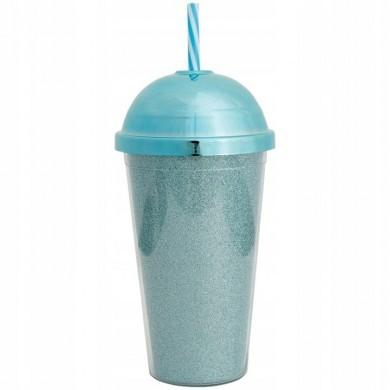 Kubek termiczny niebieski