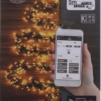 Lampki choinkowe - Sterowane telefonem - 576 LED