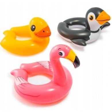Koło dmuchane - Flaming, Pingwin, Kaczka