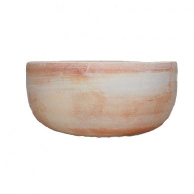 Donica okrągła grecka 21 x 10 cm
