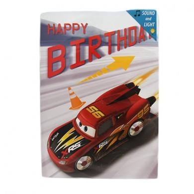 Kartka grająca - urodzinowa
