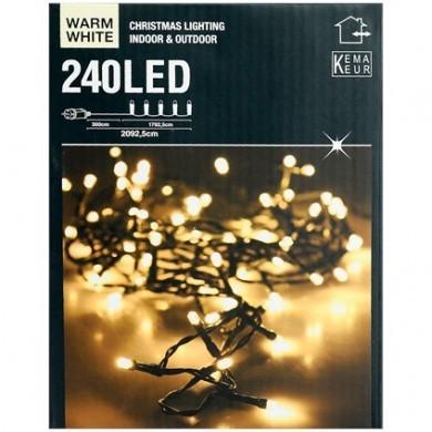 Lampki choinkowe białe - 240 LED