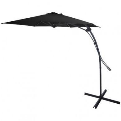 Parasol ogrodowy z push up