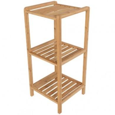Bambusowa półka łazienkowa
