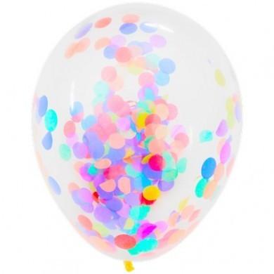 Balon z konfetti