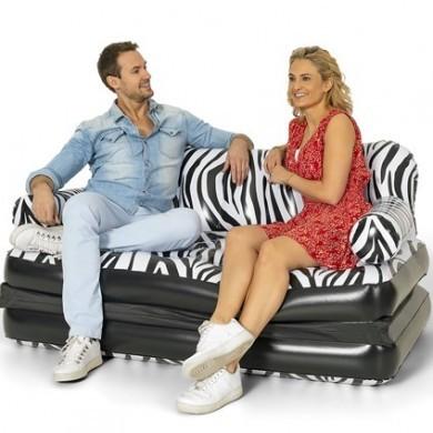 Dmuchana sofa 2w1