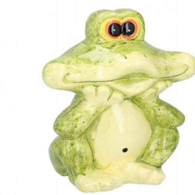 Figurka żaba z sensorm