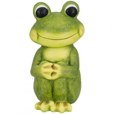 Figurka ogrodowa żaba