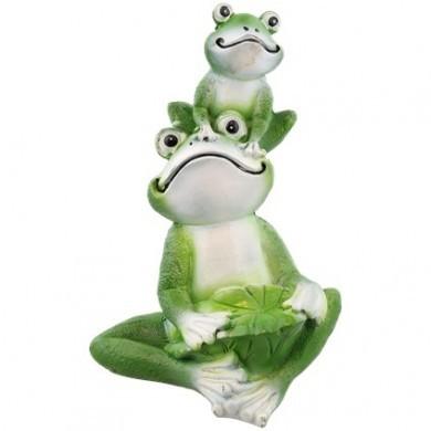 Figurka ogrodowa żaby