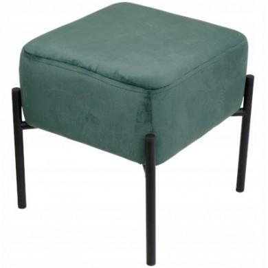 Aksamitne welurowe krzesełko