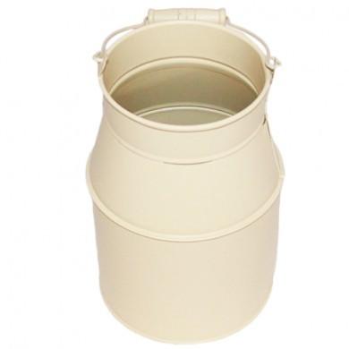 Doniczka kanka bańka na mleko - Beżowa